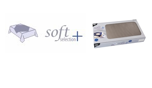 "Beschichtete Mitteldecken Vlies ""Soft Selection Plus"""