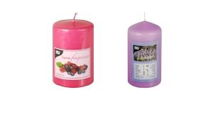 Duft-Stumpenkerzen