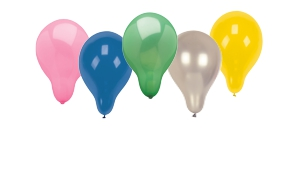 Luftballons einfarbig
