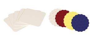 Papieruntersetzer & Tropfdeckchen