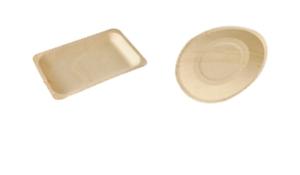 Teller aus Holz
