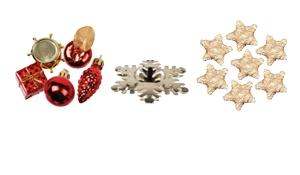 Tischdeko für Weihnachten & Streudeko