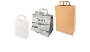 Tragetaschen aus Papier