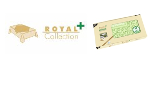 "Wasserdichte Mitteldecken PV-Tissue ""Royal Collection Plus"""