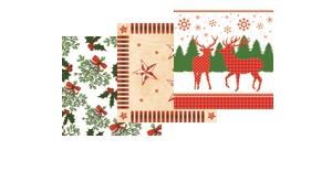 Weihnachtsservietten 33x33 cm