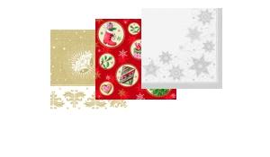 Weihnachtsservietten 40x40 cm