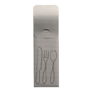 Bestecktaschen grau, 23,5 x 7,3 cm, inklusive farbiger Bistro Serviette - Bild 2