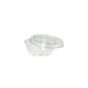 Dressingbecher, PS rund 50 ml Ø 6,7 cm · 2,7 cm klar - Bild 3