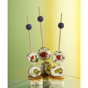 """Fingerfood-Spieße 12,5 cm """"Black Pearl"""" - Bild 2"""