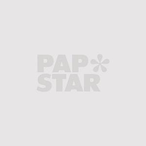 """Kochmützen, Vlies 30 x 28 cm weiss """"Toscana"""" größenverstellbar, gelegte Falten - Bild 1"""