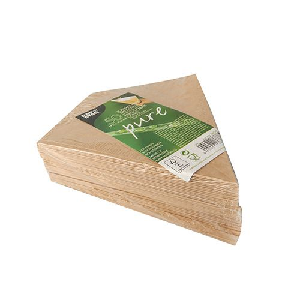 """Pommes-Spitztüten mit Dip-Ecke, Pappe """"pure"""", Füllinhalt 150 g, 23,5 x 19 cm braun/weiss  - Bild 2"""