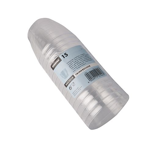 Plastikbecher (PS) 0,1 l Ø 6,8 cm · 5,4 cm transparent - Bild 3